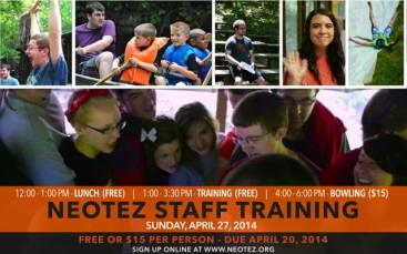 Staff Training 2014 Promo