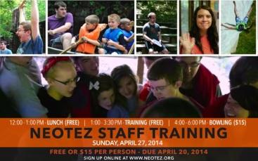 Staff Training 2014 Promo