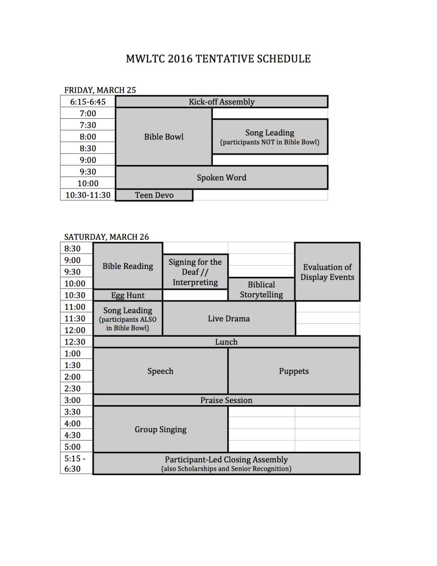 Microsoft Word - MWLTC 2016 Tentative Schedule